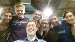 Lock Out!: The Musical Cast Selfie
